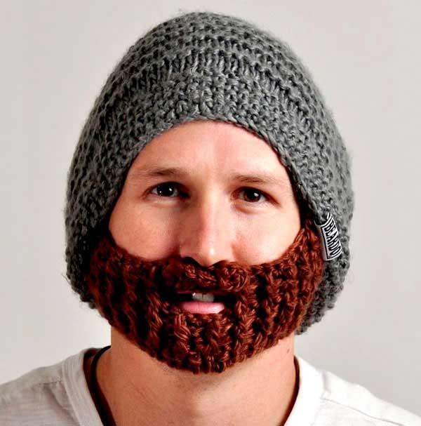 A-Knitted-Beard-Beanie